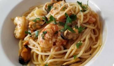 Spaghetti la marinera